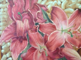 Pink Lillies Detail